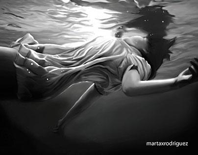 Underwater illustration