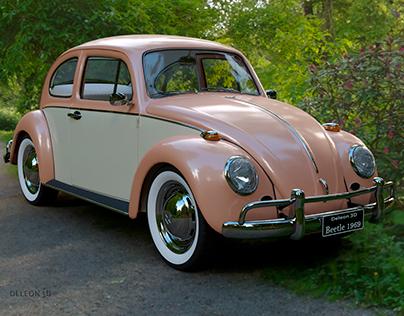 Fusca beetle 1969