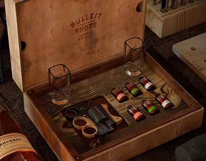 Bulleit® Whiskey Shots - 'Shot'Gun + Free 3D Assets