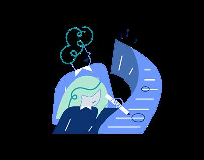Spot Illustrations for Freshconnect
