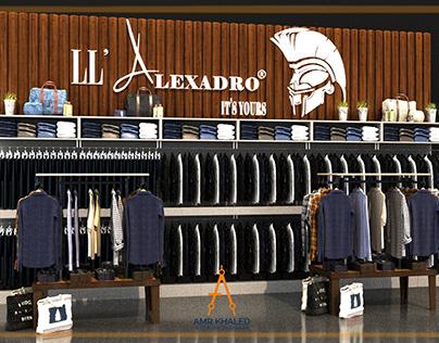 ll' Alexadro Stand Shop in Hyper one