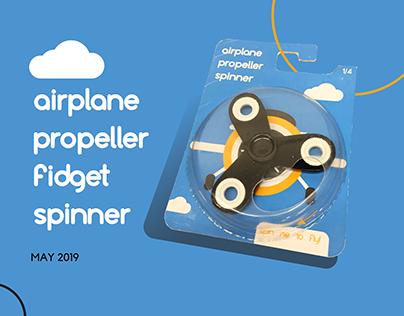 Airplane Fidget Spinner