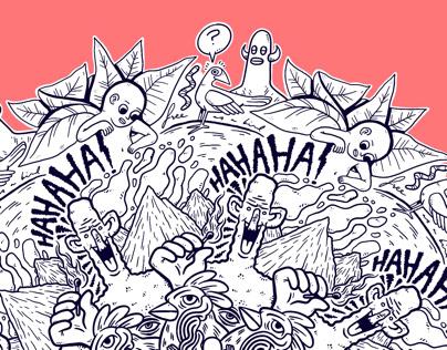 Doodle Mandala 08