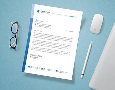 Letterhead Design - Letterhead Template - Stationery