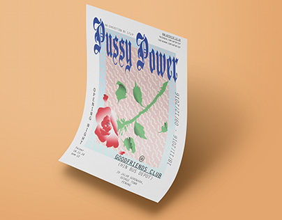 'Pussy Power' Solo Show