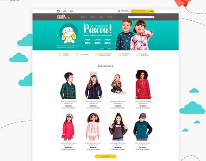 Vestir e Sorrir . E-commerce