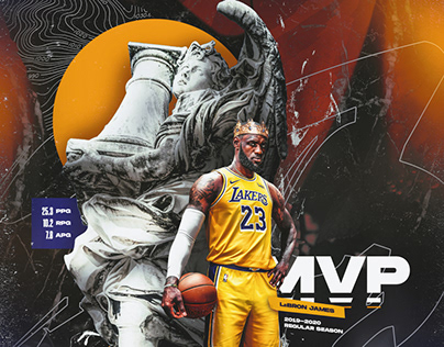 "LeBron James ""2020 NBA MVP"" Graphic"