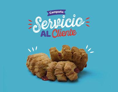 Campaña interna - Servicio al Cliente