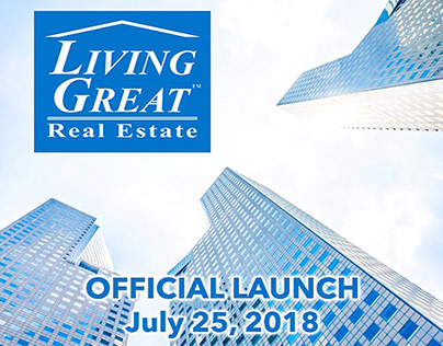 Living Great Real Estate Launch Party Promo