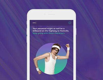 Cyber Security Awareness - Campaign + App Design
