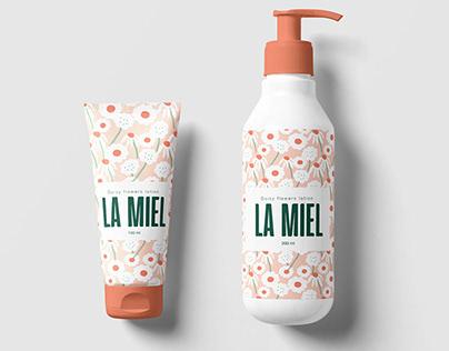 La miel - Floral packaging