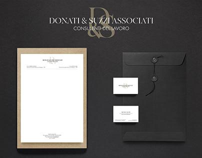 Donati&Suzzi Associati   Logo Design   Brand Identity