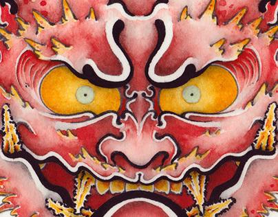 DEMON FACE SETSU-BUN
