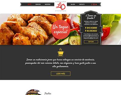Sitio web Leoeventos