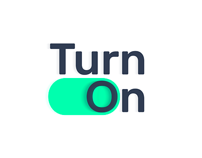 Turn On - Logo + Motion Graphics