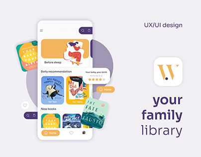 Wunder | Bookstore app design