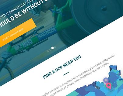 UCP Homepage Design