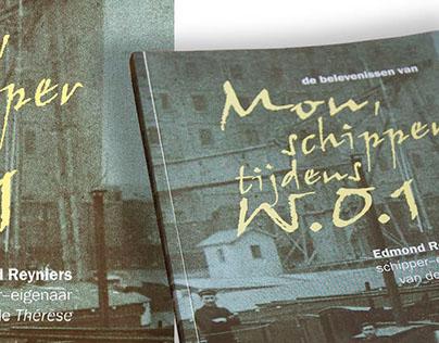Boek 'Mon, schipper tijdens WO1'