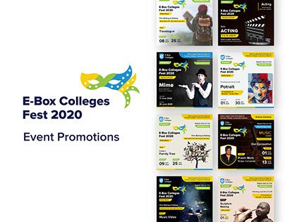 E-Box Colleges Fest - Event Promotions
