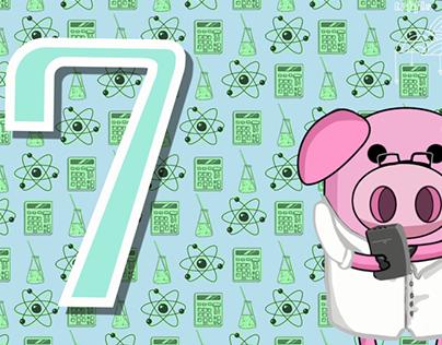 Countdown card animations for SlappedHam