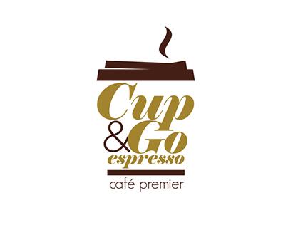 Cup&Go Espresso Branding