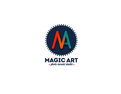 Magic art logo