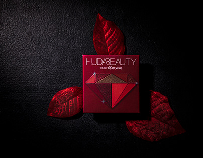 Huda Beauty Eye Shadow Hard Texture Background