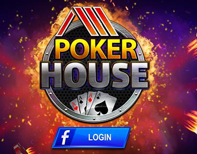 Poker Game Graphics & UI design