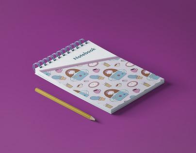 Notebook   print design