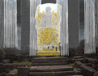 Ancient Olympia - Animated Illustration