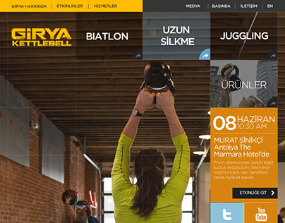 Girya Web Site Design