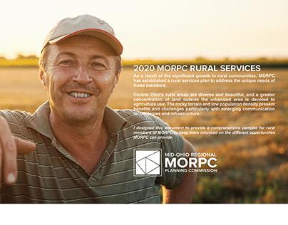 MORPC RURAL SERVICES PLAN DESIGN