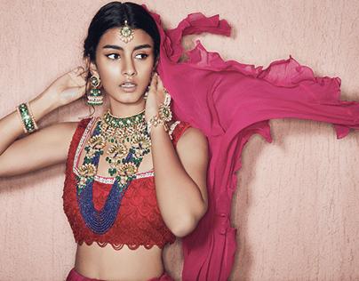 Sunita Shekhawat Jewellery Campaign