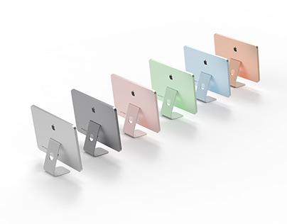 Colour proposals for product range iMac 2021.