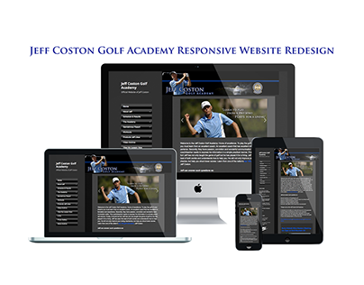 Jeff Coston Golf Academy Website