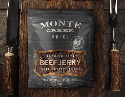Monte Creek Ranch Beef Jerky