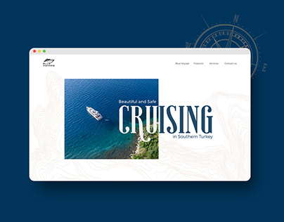 Blue Voyage - Website