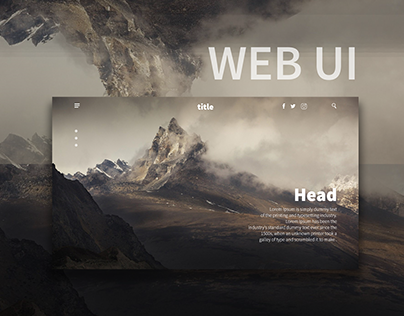 Mountain Web Ui