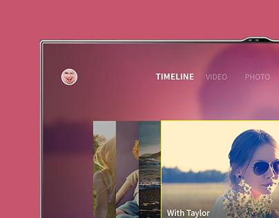 Media Streaming Service UI Kit (Mobile / TV)
