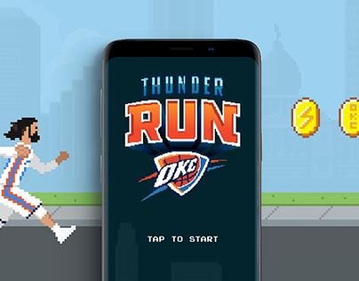 Oklahoma City Thunder Retro Online Game