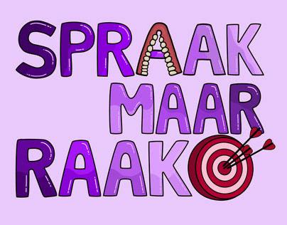 Spraak Maar Raak - Logo Design