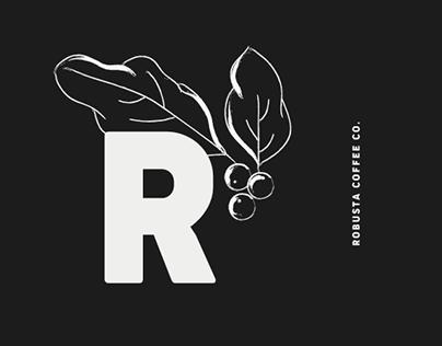Robusta Coffee Co.   Brand Identity