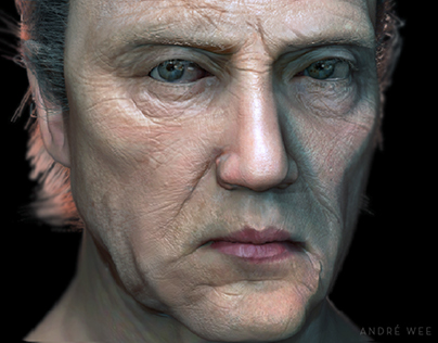 Chris Walken sculpt