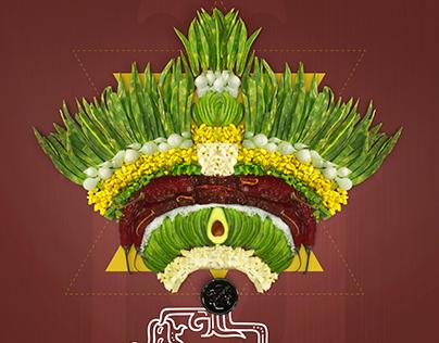 Ensalada Azteca: Campaña