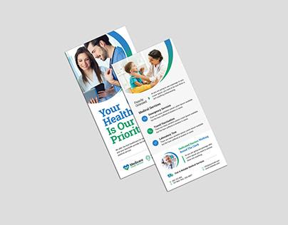 Medical DL Flyer Design