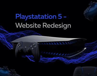 Playstation 5 - Website redesign