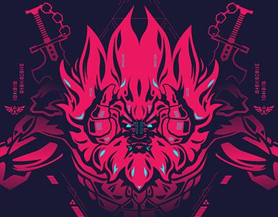 Zelda — Character illustrations
