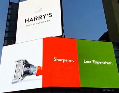 Harry's Billboard - Penn Plaza NYC