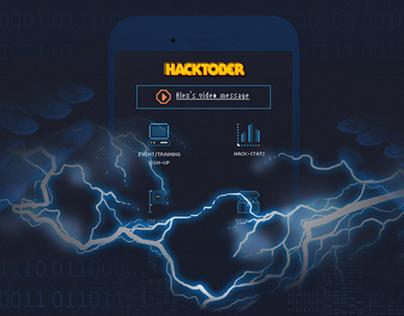 Hacktober - Microsite