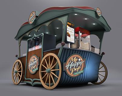Gourmet Popcorn Kiosk